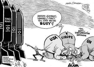 Iran_cartoon_IAEA_politicsized